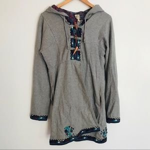 Free People | sweater coat toggle buttons